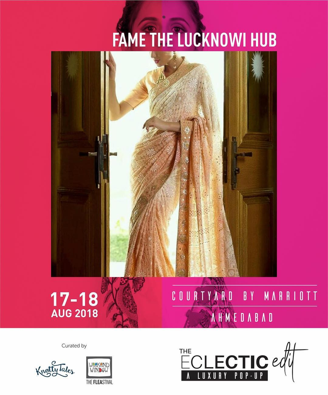 Nothing raises eyebrows like women that exude confidence. Power dress and impress with shades of elegance. Ready to make your move?  @ahmedabad_lucknowi is coming up with some of the finest lucknowi collection to flatter you and the onlookers.  #dresstoimpress #theeclecticedit #style #luxurylifestyle #ethnic #ahmedabad #latestfashion #knottytales #weekendwindow