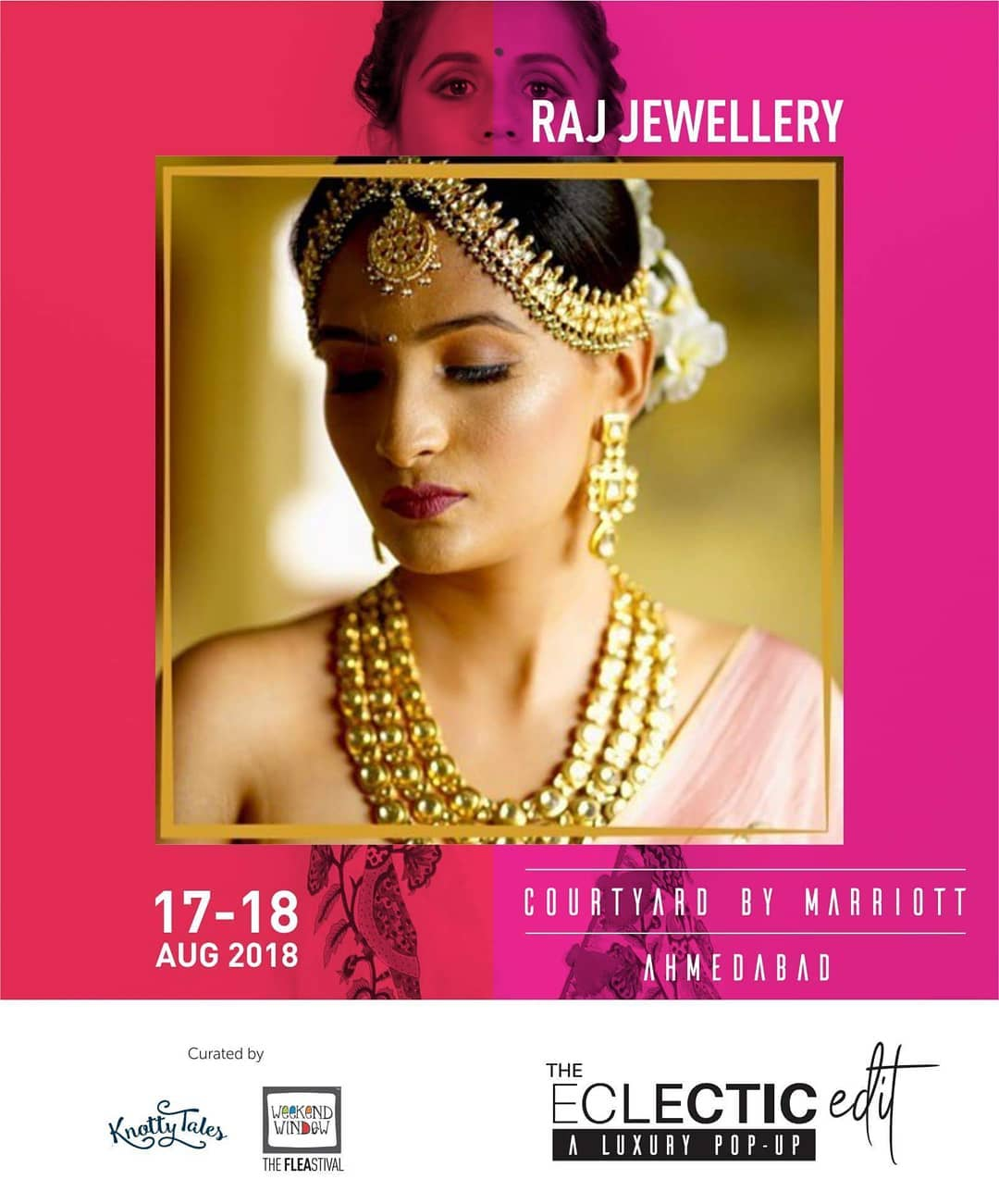 Sterling silver and copper based jewellery that are completely tailor fit to you. With the designs that are timeless and classic, @rajjewellery brings to you a very versatile collection that manifests the ever glowing beauty and flamboyance of every Indian woman.  Add oodles of splendor to your aesthetic look with heavy jadtar necklace adorned with pink and blue meenakari work.  #rajjewellery #wedzo #weddingjewellery #bridaljewellery #jadtar #jadtarjewelry #gold #craft #jewels #heritagejewellery #antiquejewelry #meenakarijewellery #royaljewels #handcraftedjewelry #jadaujewellery #theeclecticedit #knottytales #weekendwindow #aluxurypopup