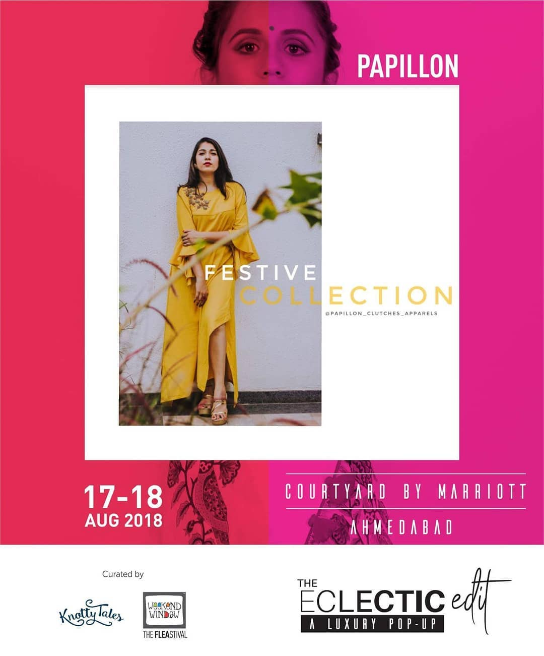 An electric mix of stylish n classic Sling Bags & Clutches just a click away by @papillon_clutches_apparels !  65+ designers showcasing at The Eclectic Edit - Season 3 curated by @knottytales_kt & @weekendwindow .  #festivecollection #papillonapparels #ethnicwear #indianwear #indianfashion #indowestern #yellow #brightcolours #handembroidered #madeinindia #indowesternlook #trendyclothing #indianclothing #mehendilook #yellowandgolden #stylish #weekendwindow #knottytales #theeclecticedit #aluxurypopup