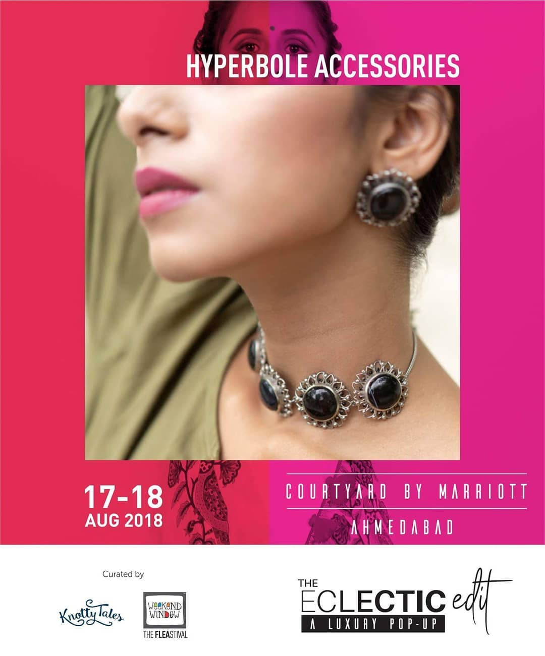 @hyperbole_accessories is back with their festive jewellery collection, this time its a beautiful melange of precious stones with pure silver metal. From cocktail jewellery to festive wear be it Diwali, Navratri or Weddings, they have it all!  Get exclusive designs which are adorned by celebrities like Jahnavi Kapoor, Ileana D'cruz, Parineeti Chopra, Anushka Sharma and many more! Exclusively at The Eclectic Edit - Season 3 curated @knottytales_kt & @weekendwindow .  #hyperboleaccessories #statementjewelry #handmadejewelry #handcrafted #semipreciousstones #madeinindia #silver #silverjewelry #studearrings #floral #love #tassel #tasselearrings #weekendwindow #knottytales #theeclecticedit