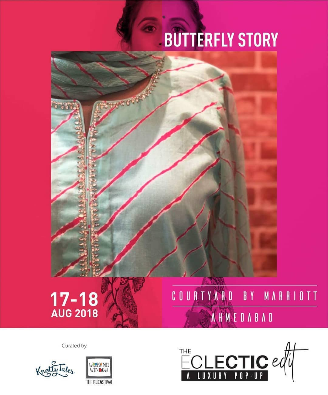 @butterflystoryjpr by Rekha Shekhawat from Jaiupur is a women apparel brand gives a mesmerizing feel and an astounding experience for various designs that do wonders thereby giving a delightful experience for making you believe in elegance.  65+ designers showcasing at The Eclectic Edit - Season 3  curated by @knottytales_kt & @weekendwindow .  #getrakhiready #blockprints #lightwork #rakhi #festiv #leheriyaprints #comfyclothes #weekendwindow #knottytales #theeclecticedit