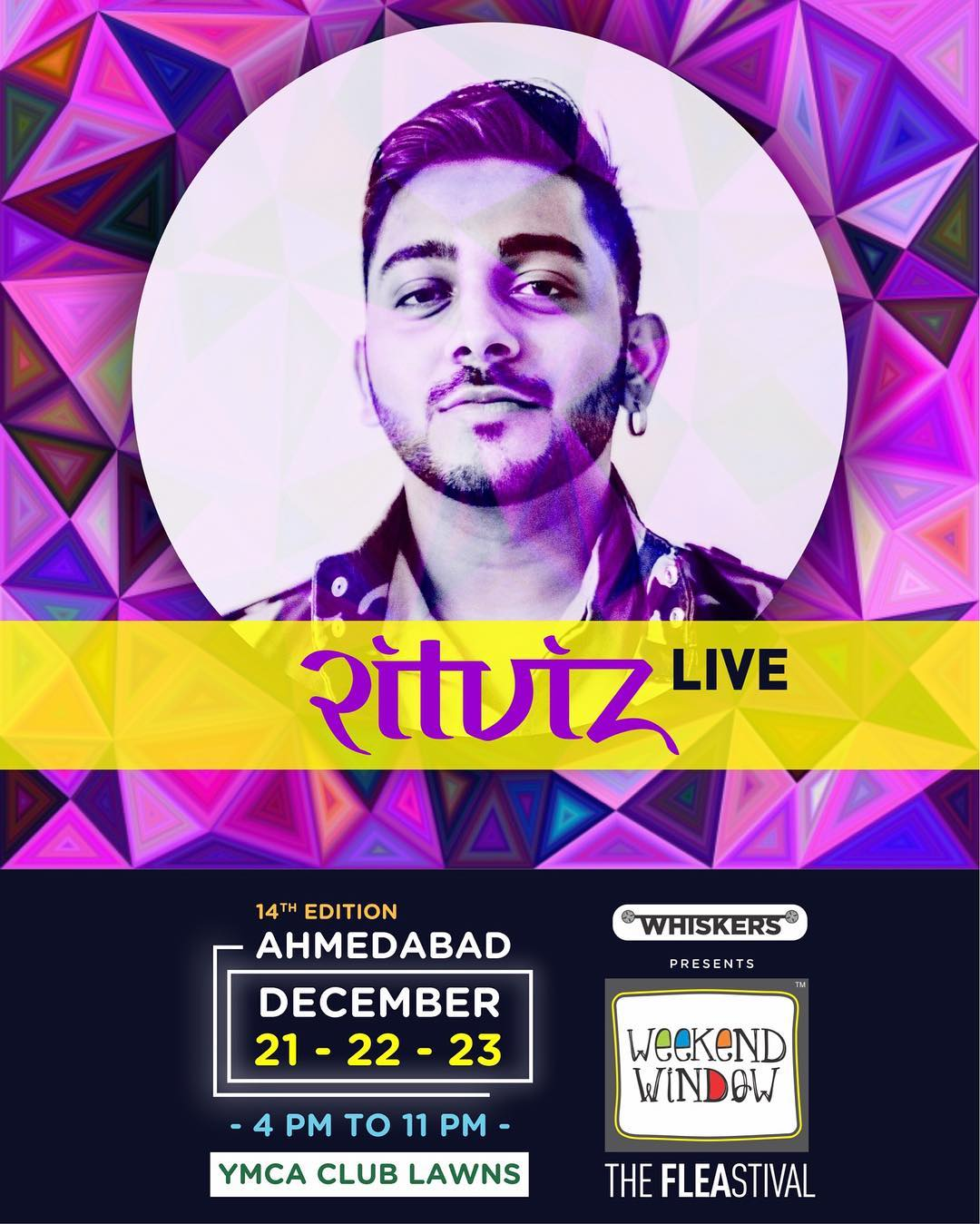 'HUM TO UDD GAYE'.... Can't wait to have him perform at the happiest festival of Ahmedabad.. Get ready to sing and sway with shopping, food and music! . . . #weekendwindow #theFLEAstival #shopping #food #music #kids #entertainment #fun #happiness