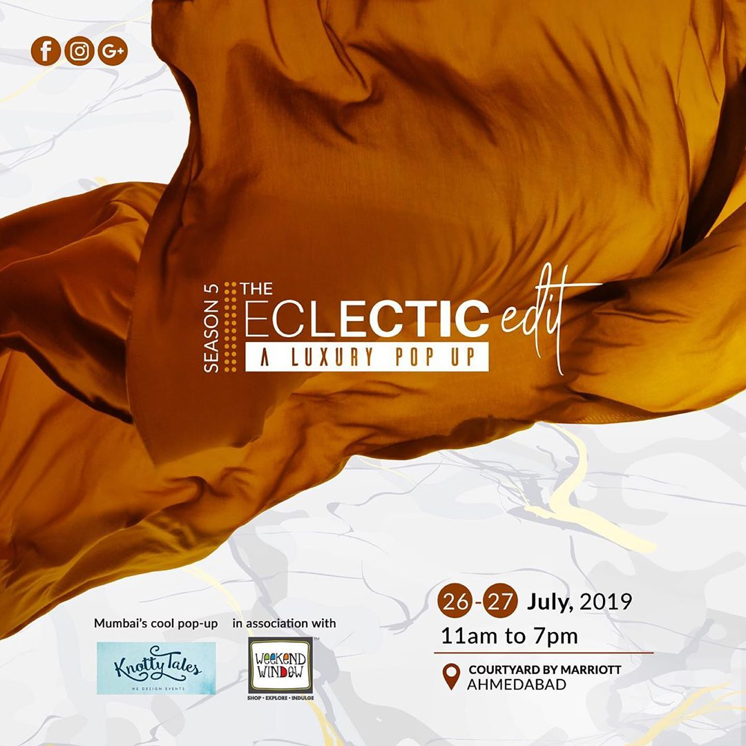 SAVE THE DATE! Find an eclectic mix of Indian dexterity and idiosyncratic style this Rakhi at our carefully curated luxury pop-up. With 60+ independent designers featuring the amalgamation of vintage with modern, tradition with boho & chic, and more. The 5th season of The Eclectic Edit will definitely showcase the perfect concoction of modern Indian couture with festive wardrobe. Date: 26-27 July, 2019 Time: 11 am to 7 pm #thecelcticedit #luxury #fashion #festive #shopping #rakhi #gifting#indiandesigners #apparels #footwear #jewellery #accessories #kidswear