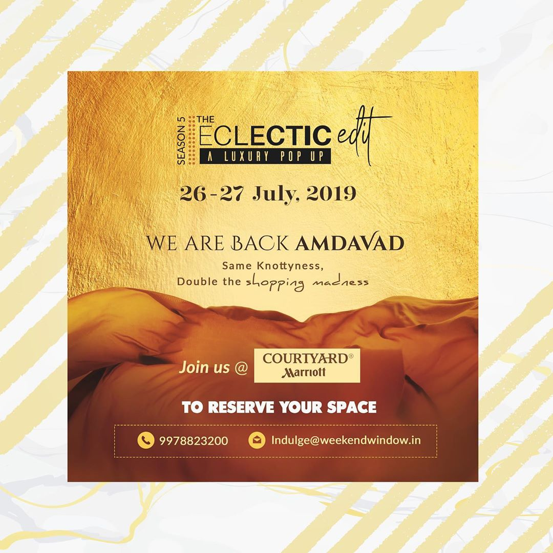 All set to curate the best in luxury fashion and lifestyle! Follow @theeclecticedit.tee for all the updates on what we have in store for you. . . . #theeclecticedit #knottytales #weekendwindow #luxury #shopping #happiness #fashion #lifestyle