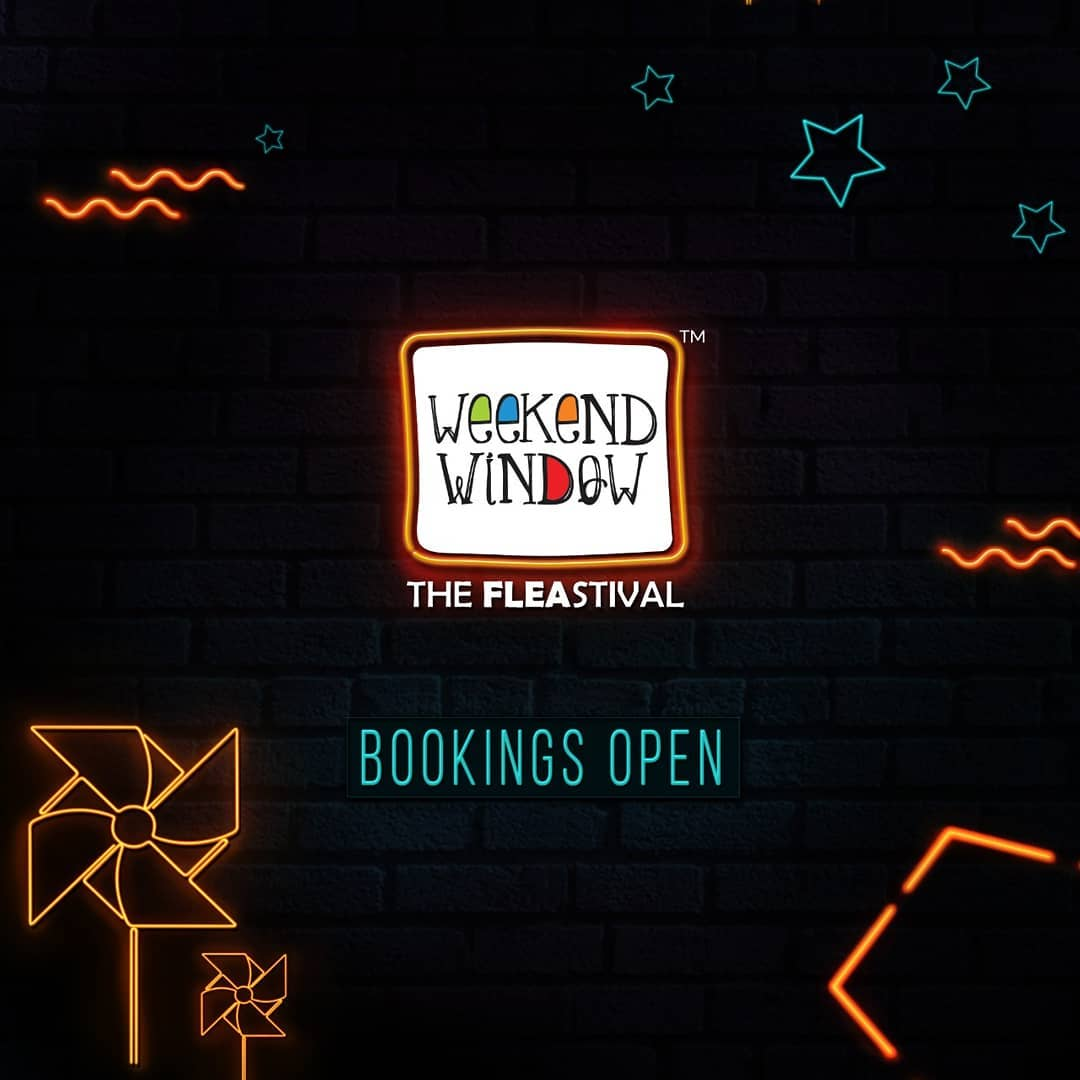 Paving your way to the happiest flea fest in town! Buckle up and stay tuned for laughter, music and all things weekend! . . . Date: 20-21-22 December, 2019 Venue: Lavish Greens, Opp. Juggernaut Cafe, Sindhu Bhavan Road . . . #weekendwindow #windowtohappiness #music #art #fleamarket #shopping #lifestyle #apparels #ahmedabad #events #theFLEAstival