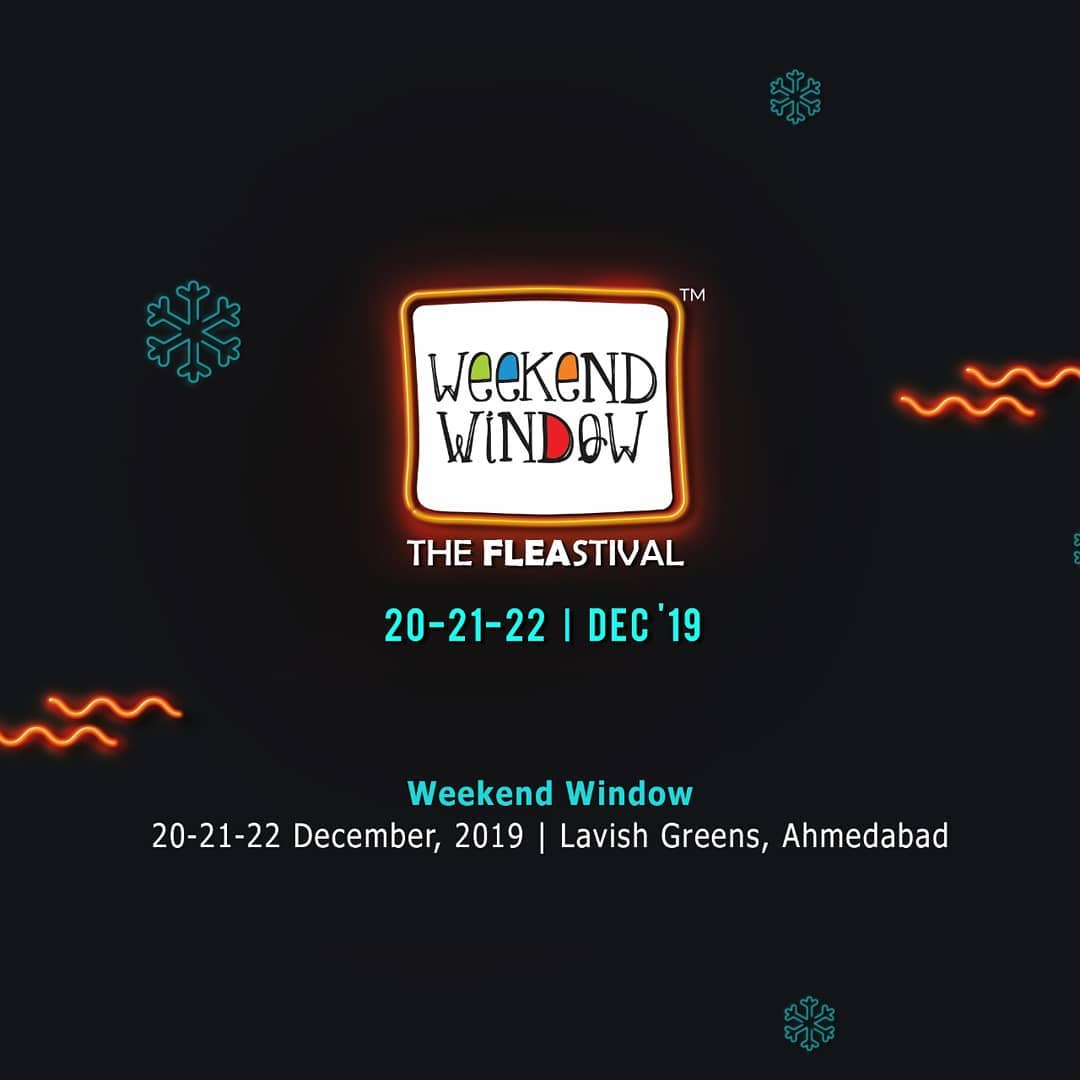 We're all geared up to bring you the best of fashion, jewellery, home decor, food, entertainment, and the best weekend! 'Tis the season to be merry and hold shopping bags! . . Date: 20-21-22 December, 2019 Venue: Lavish Greens, Opp. Juggernaut Cafe, Sindhu Bhavan Road . .  #weekendwindow #windowtohappiness #music #art #shopping #apparels #lifestyle #theFLEAstival #memories #ahmedabad #events #weekendsinahmedabad