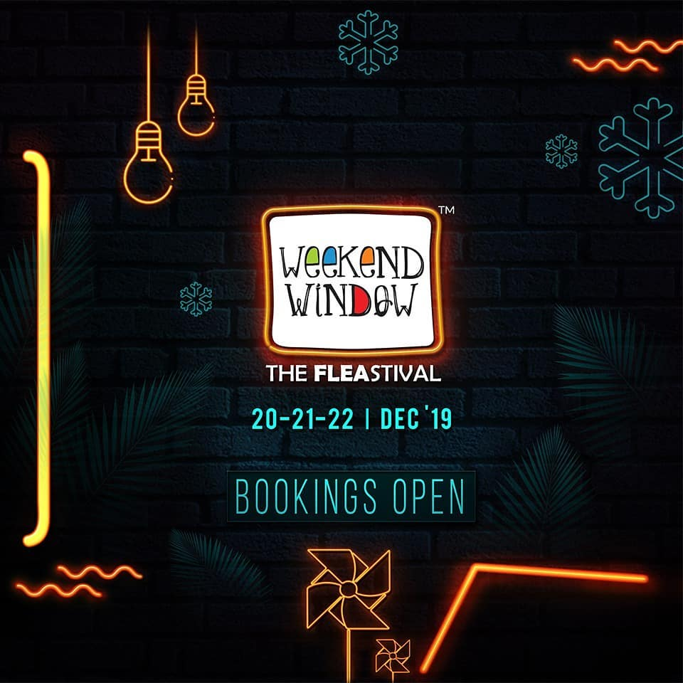 Throwback to beautiful weekend memories! And the season to make more  with shopping, fashion, food and absolute fun! . . Date: 20-21-22 December, 2019 Venue: Lavish Greens, Opp. Juggernaut Cafe, Sindhu Bhavan Road . . #ThrowbackThursday #weekendwindow #windowtohappiness #music #art #shopping #apparels #lifestyle #theFLEAstival #memories #ahmedabad #events #weekendsinahmedabad