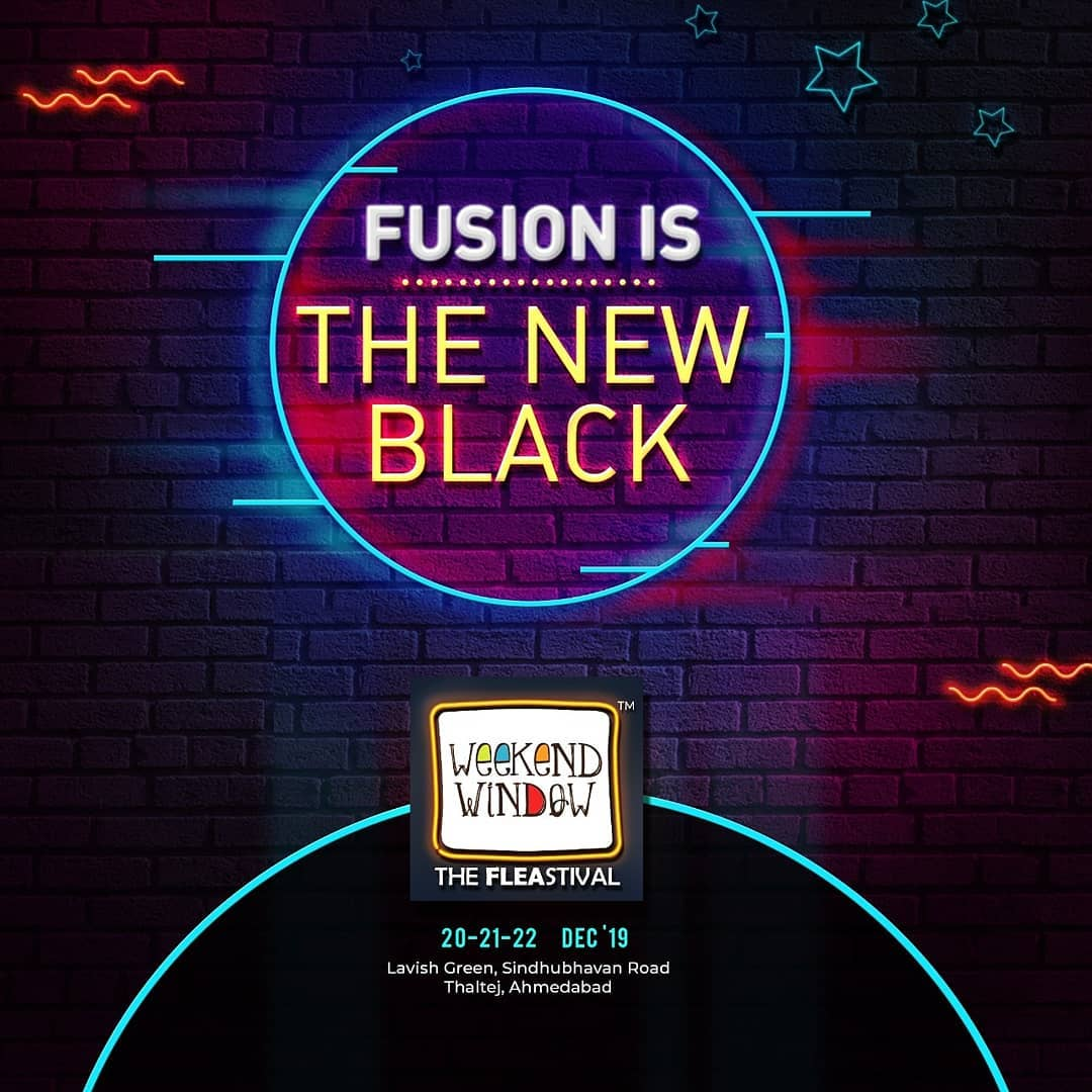 Fusion is the new black! Let's get set you shopping and add these fusion apparels to your closet at Weekend Window! . . Date: 20-21-22 December, 2019 Venue: Lavish Greens, Opp. Juggernaut Cafe, Sindhu Bhavan Road. . . #weekendwindow #windowtohappiness #music #art #shopping #apparels #lifestyle #theFLEAstival #memories #ahmedabad #events #weekendsinahmedabad #christmas #fleamarket