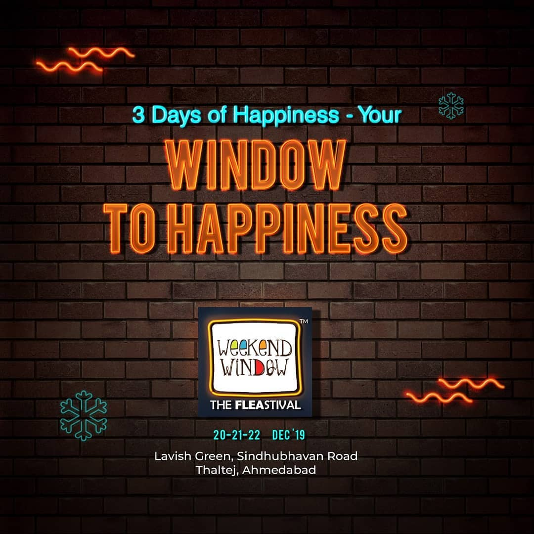 Weekend Window,  ThrowbackThursday, weekendwindow, windowtohappiness, music, art, shopping, apparels, lifestyle, theFLEAstival, memories, ahmedabad, events, weekendsinahmedabad
