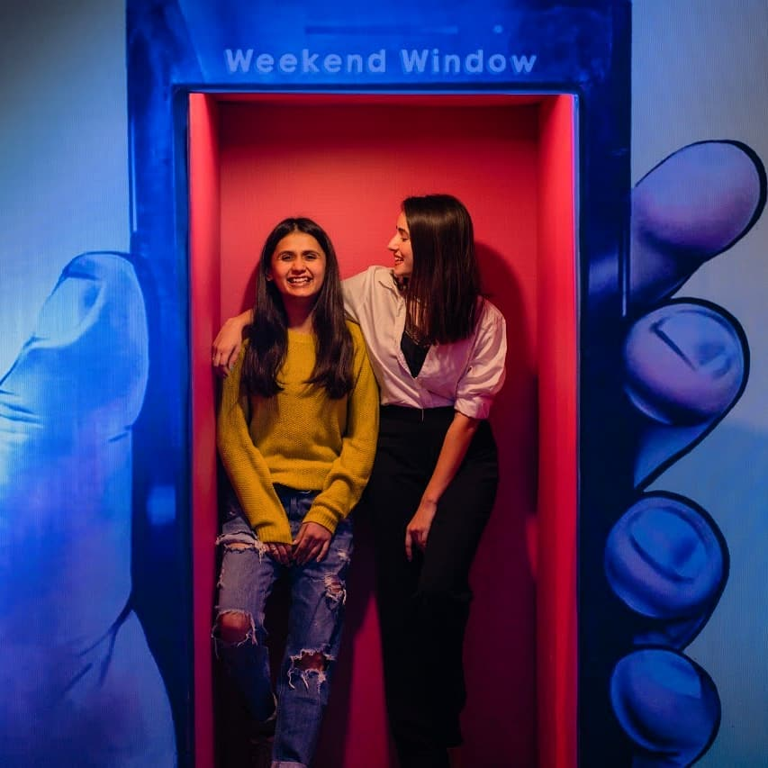 A riot of fun, freedom, and friendship -  only at Weekend Window! . . .  Bookings for #WeekendWindow 17 open now! Check the link in the bio to grab a special early-bird discount.  #WindowToHappiness #Fleastival #Weekend #Shopping #Fun #Vibes