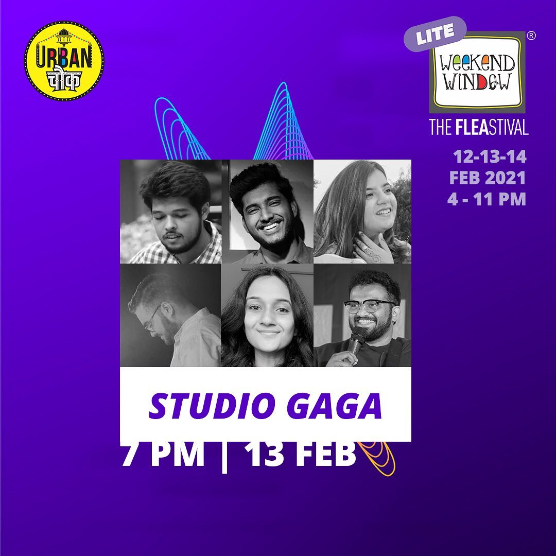 @studio.gaga is a group of versatile artists that bring together a rhythm of melody in the music they create. Going live in 3...2...1! #music #band #concert #gaga