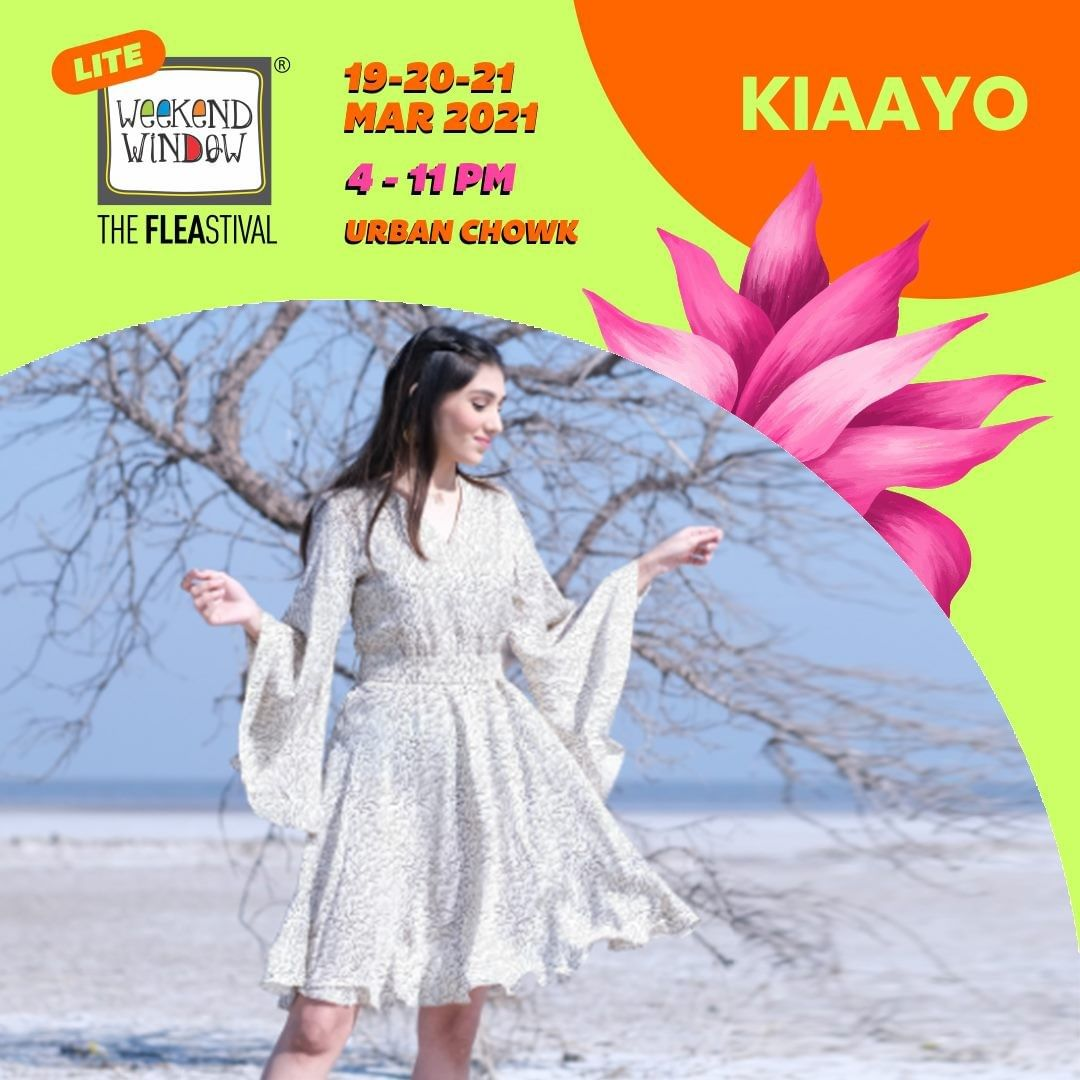 @kiaayoofficial practices sustainable fashion through products that are made from hand woven fabric by the weavers of Kutch and then styled, embroidered and designed locally. Their products are a fusion of Kutchhi handicraft art on it and a mix of ethnic wear with the trendy urban wear.  #weekendwindow #fleamarket #shopping #windowtohappiness #shop #explore #indulge #ahmedabadweekend
