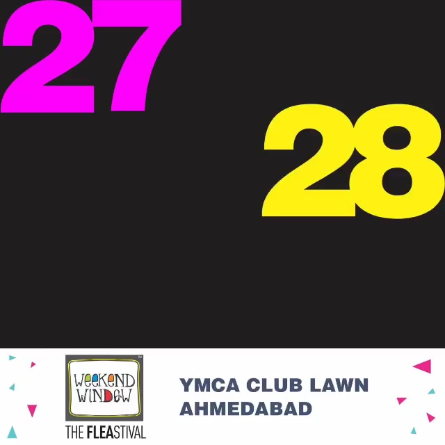 Have you marked your calenders??? . Cuz thus summer, Ahmedabad is getting Weekend Window ready!! Are you? . . #weekendwindow #ww13 #XIIIedition #FLEAstival #shop #explore #indulge #fleamarket #happinesssale
