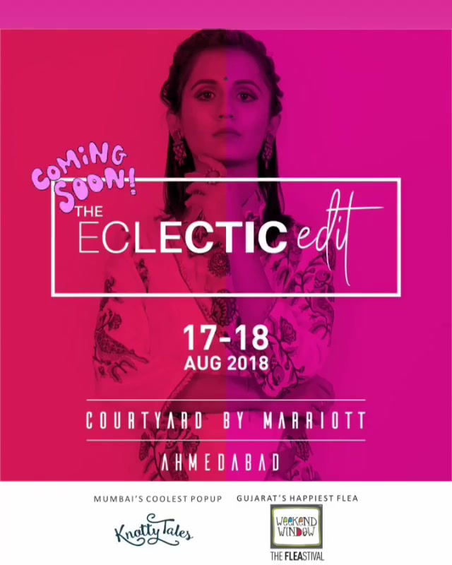 Only 16 days to go!!! 😍  Ahmedabad, get ready for the most happening pop-up.. And we have a surprise for you!  Watch this space to know more.. #theeclecticedit #weekendwindow #knottytales #luxuryshopping #popup #festive #collection #designers #newbeginnings